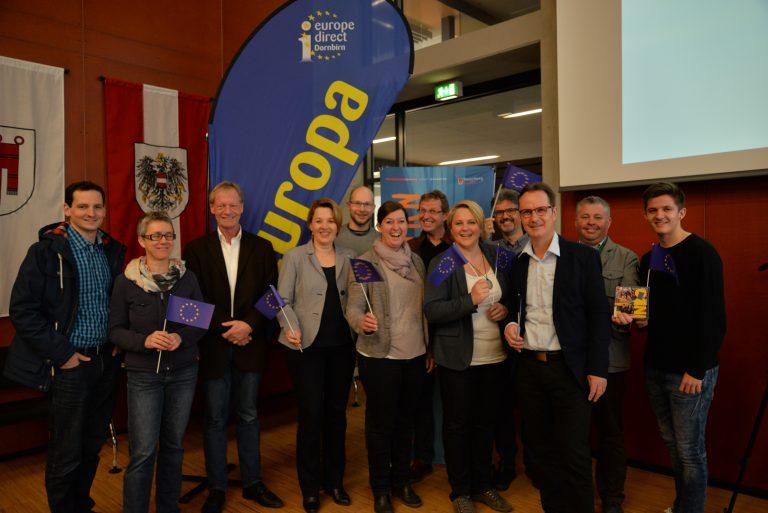 Absenden des Antrages zur Europäischen Jugendhauptstadt 2019